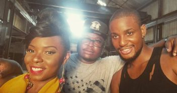 Yemi Alade Alex Ekubo 351x185 - Yemi Alade Shoots A Paul Gambit Directed Video with Alexx Ekubo
