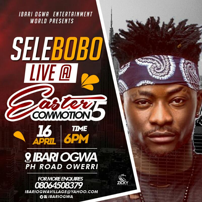 91f8ad3b 772b 41d7 b552 84bcbf33eaff - Event: Ibari Ogwa Presents Easter Commotion 5 With IllbLiss, Selebobo, Charass etc.