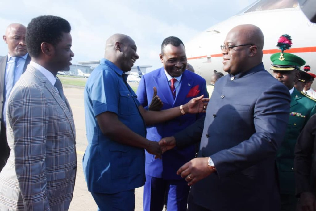 E512FA6C D38E 4650 8195 786DF04B8A9C 1024x683 - President Of Congo DRC Received By The Honorary Counsel Of The Country To Nigeria, HE Prince Don Okonkwo