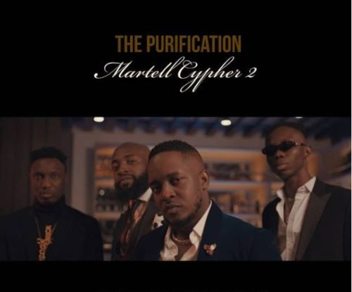 Martell Cypher 2 M I Abaga Blaqbonez A Q Loose Kaynon mp3 image - #Nigeria: Video: M.I Abaga x Blaqbonez x A-Q x Loose Kaynon – Martell Cypher 2 (The Purification)