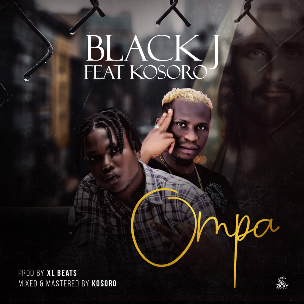 black j ompa 1024x1024 - #Nigeria: Music: Black J ft Kosoro - Ompa (Prod By Xl Beat)
