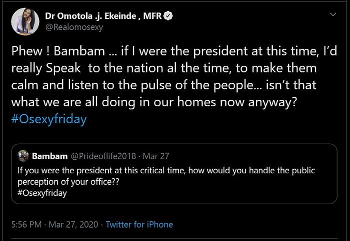 fhvbn - #News: Actress, Omotola Jalade Reveals What She Would Do If She Was Nigeria's President