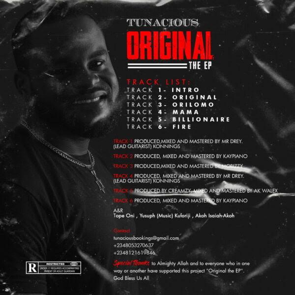 unnamed 24 - #Nigeria: Music: Tunacious - Original (EP)