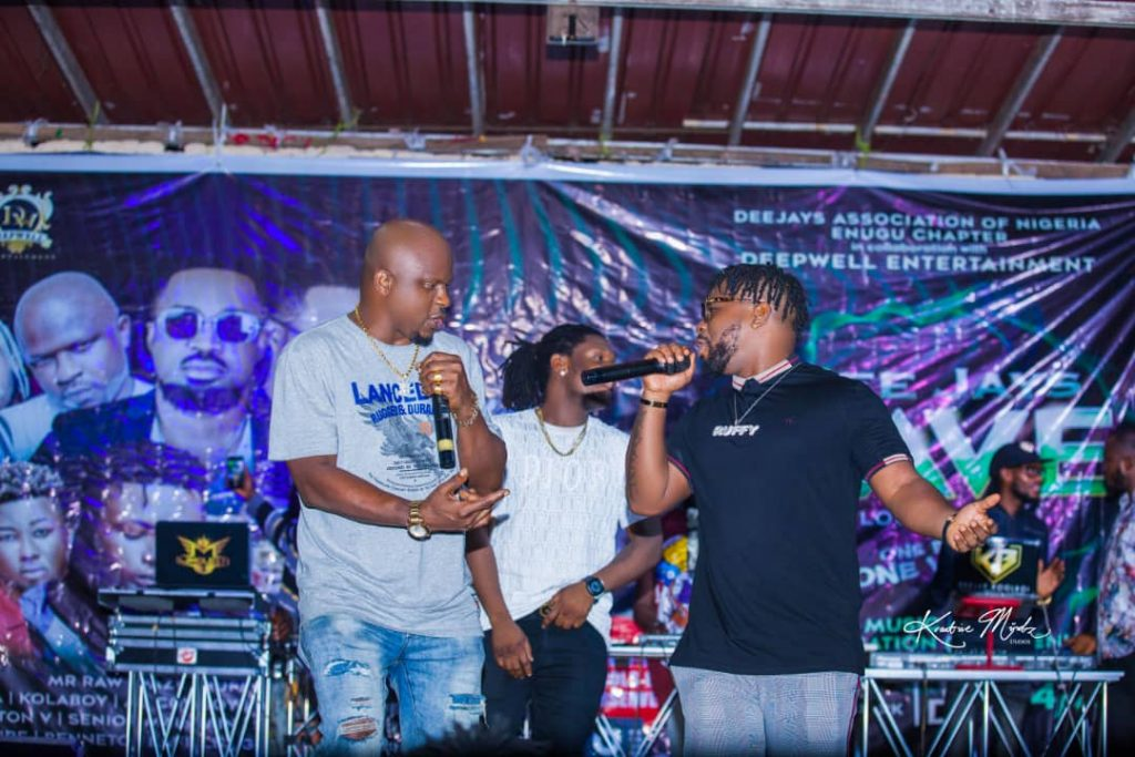 IMG 20201224 WA0013 1024x683 - Oodera and DeepWell Entertainment partners with DJAN on their Rave even as he hosts All OAPs in Enugu