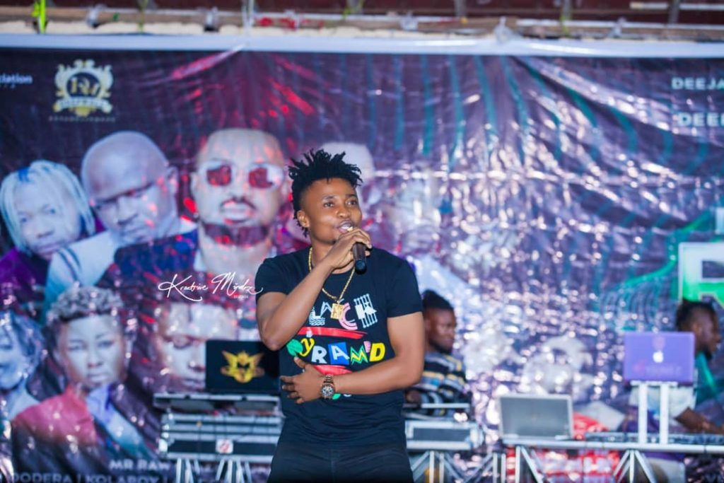 IMG 20201224 WA0039 1024x683 - Oodera and DeepWell Entertainment partners with DJAN on their Rave even as he hosts All OAPs in Enugu